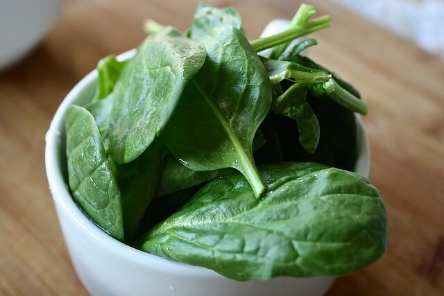 fresh spinach recipes