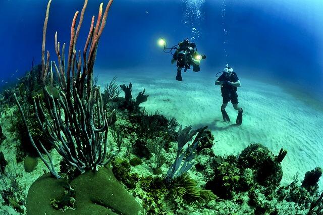 scuba diving in Ibiza
