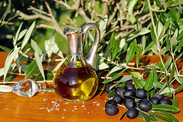 monounsaturated fats - olive oil