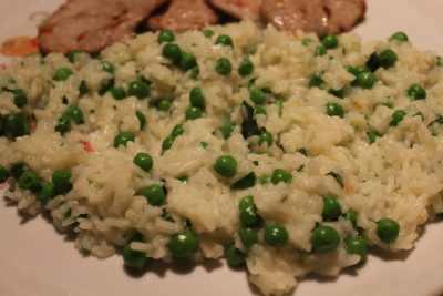Rice and Peas Recipe