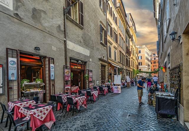 restaurants in Italy